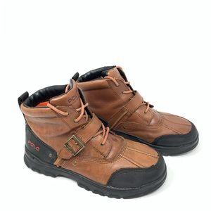 Polo Ralph Lauren Tyrek II Leather Duck Boots